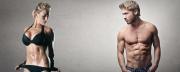 Muž a žena s vypracovanou postavou: Jak zhubnout - 5 tipů