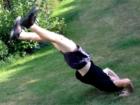 Výskok z lehu (Kip-up)