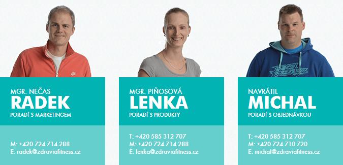 Tým obchodu zdraviafitness.cz