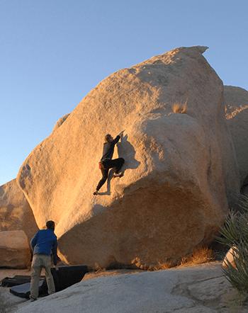 Původní bouldering