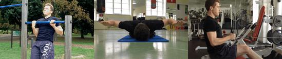 Cviky na zádové svaly