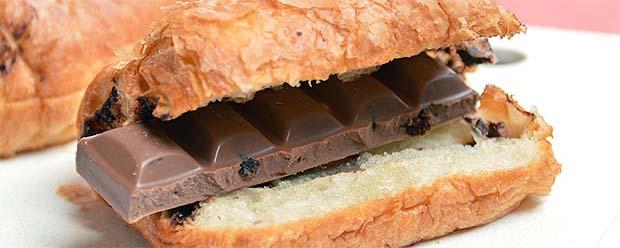 Sladkosti náhled (Čokoláda v pečivu)