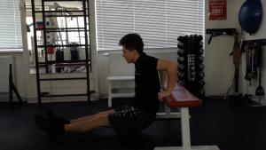 Tricepsové dipy