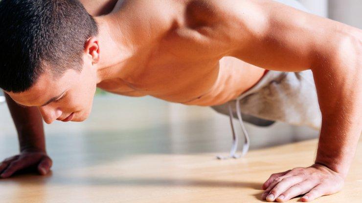 Kliky cvičení
