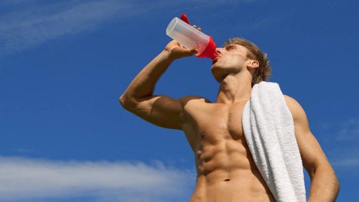 Pití cvičení