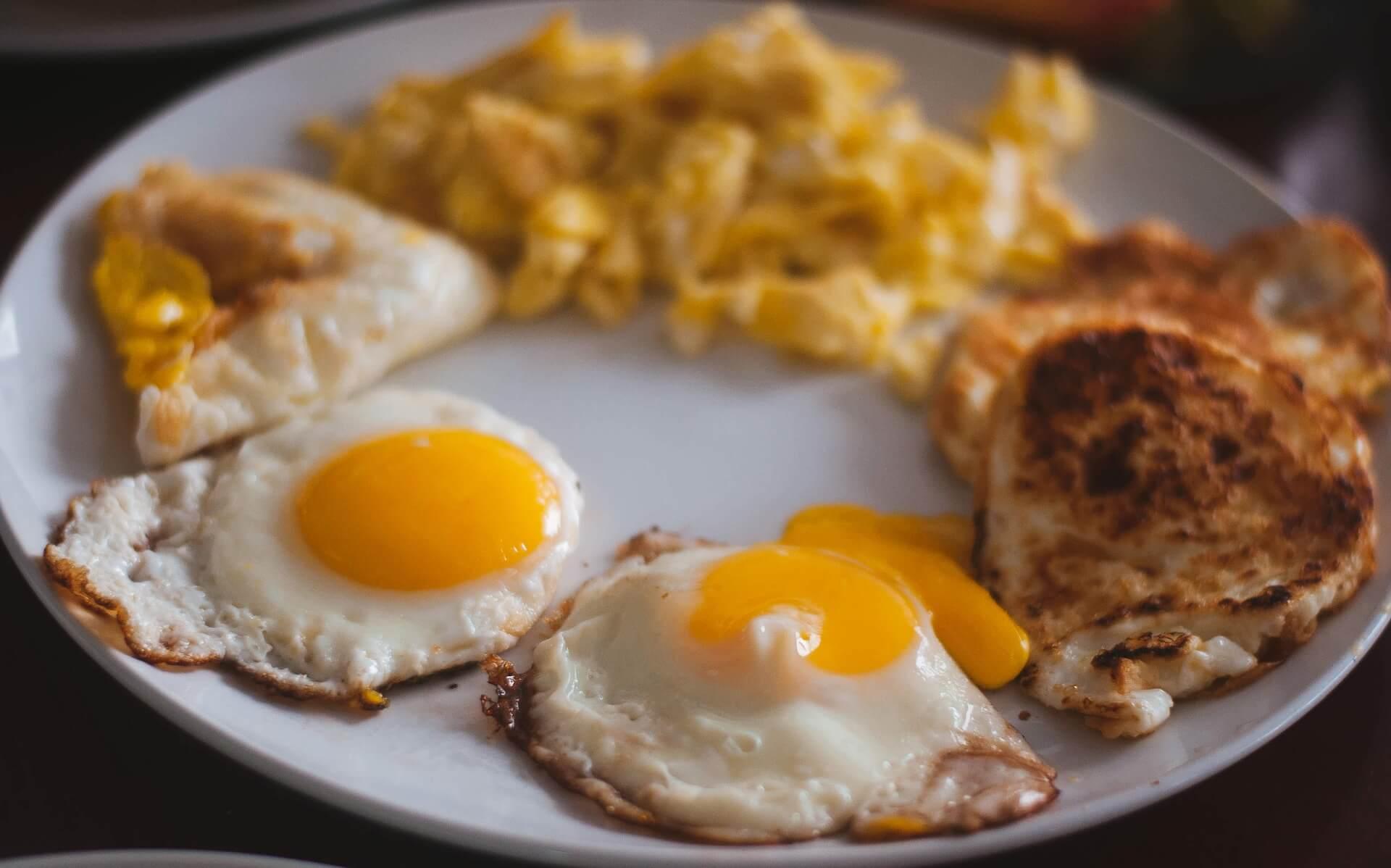 Vajíčka ve fitness stravě