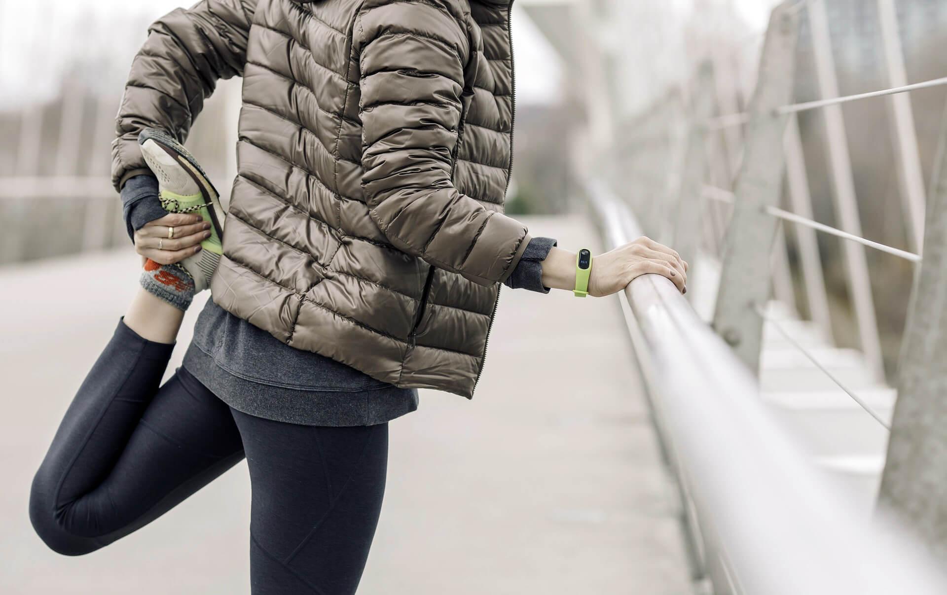 Protažení na běhání