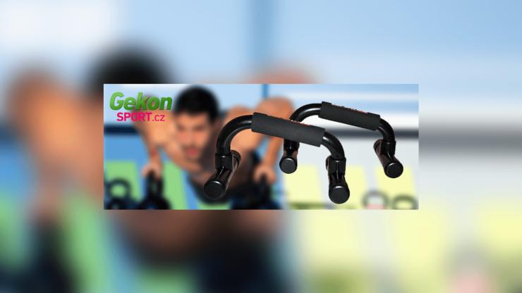 Podpěry na kliky Gekon sport