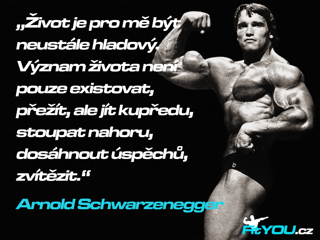 Citát Arnolda Schwarzeneggera