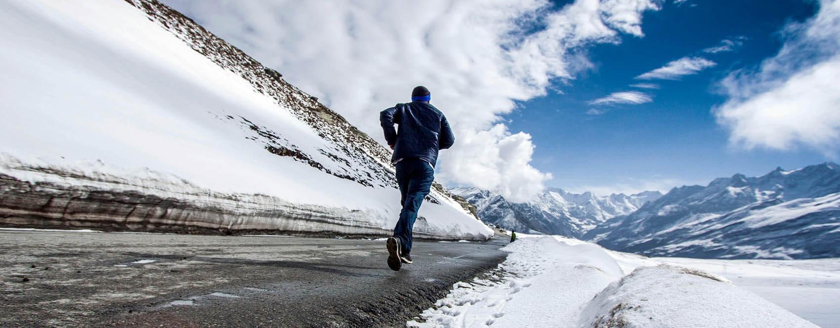 Běhání v zimě