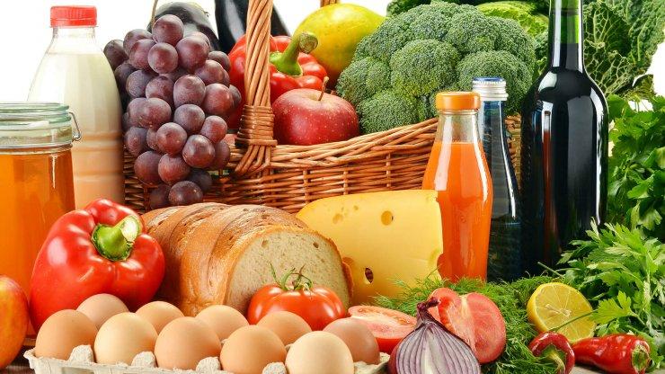 Středomořská dieta potraviny