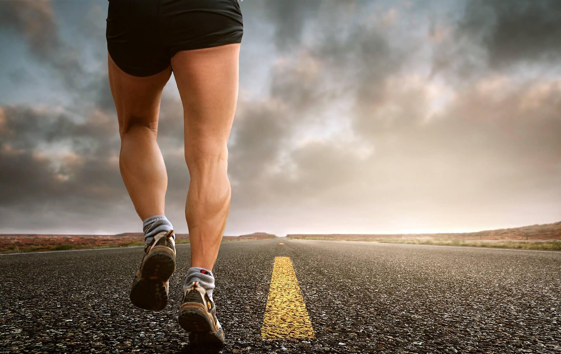 intervalový trénink běhání