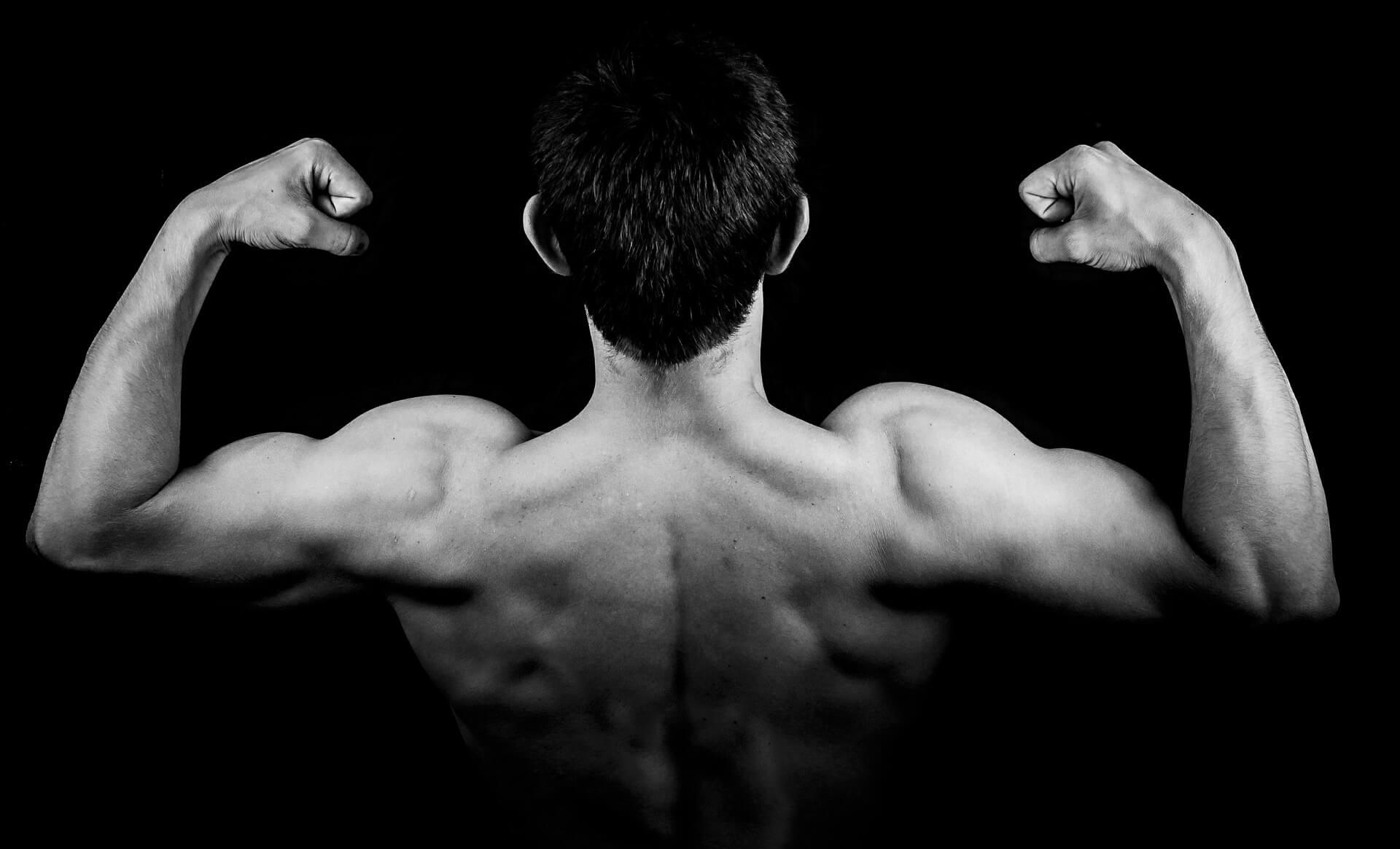 Silné zádové svaly
