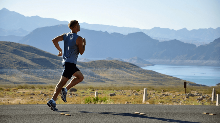 Běh v kopcích