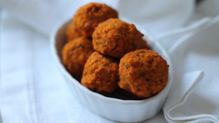 Batátové falafely recept