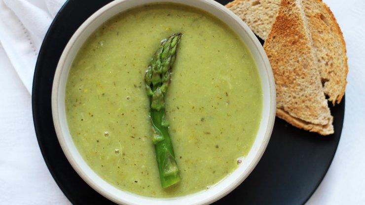 Chřestová polévka - recept