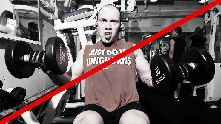 Nejčastější chyby při cvičení