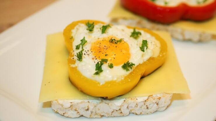 Vajíčko v paprice recept