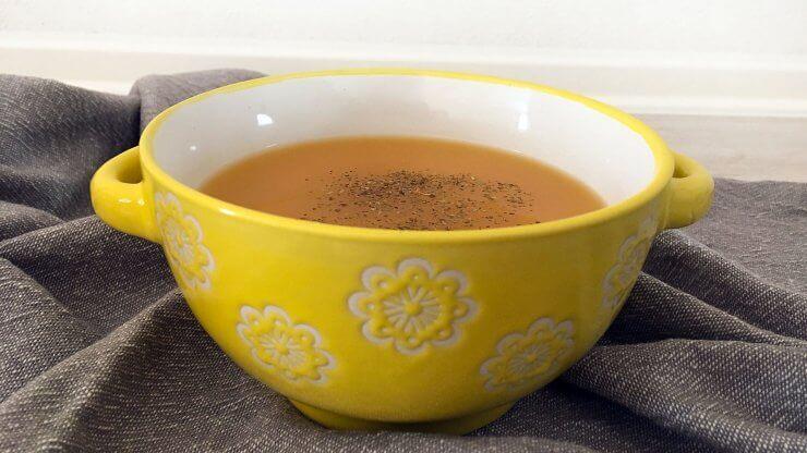 Mrkvovo cizrnová polévka