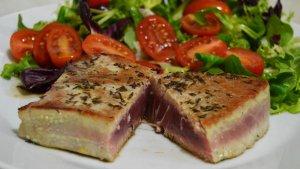 Recept na steak z tuňáka