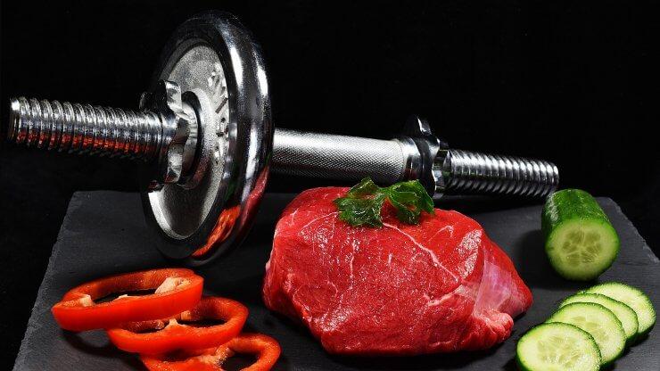 Jídlo před a po tréninku