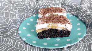 Recept na fitness banánový koláč bez cukru