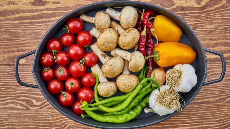 Tepelná úprava zeleniny