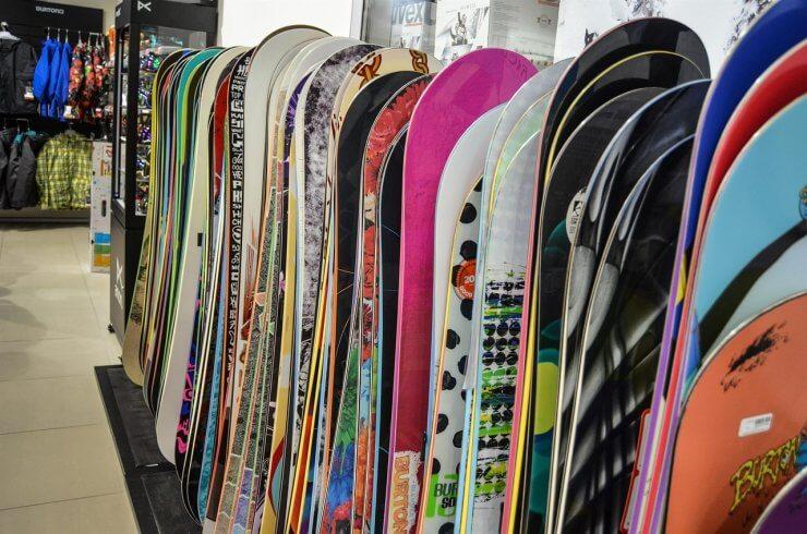 Obchod se snowboardy